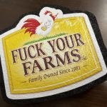 Fuck Your Farms Dab Mat